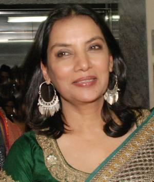 Shabana Azmi cute smile pic