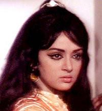 Angry Hema Malini look