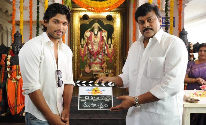 Allu Arjun badrinath telugu film stills