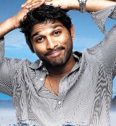 Allu Arjun  cute picture