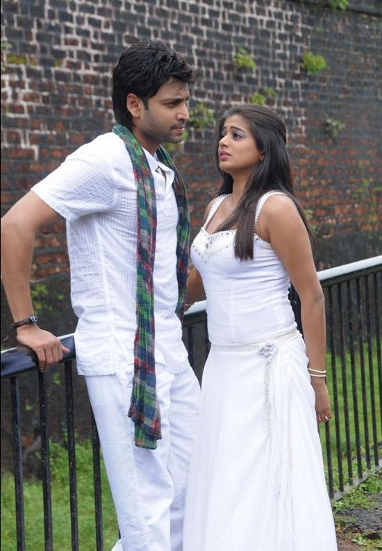 Sumanth and Priyamani Raaj movie white dress stills