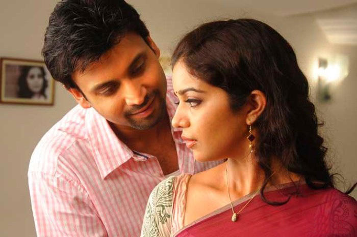 Sumanth and Swath in Golconda High School telugu movie