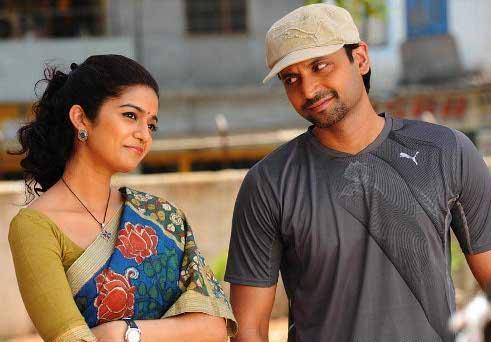 Sumanth and Swath cute pic in Golconda High School telugu film