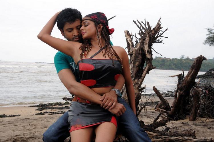 Priyamani and sumanth hot romantic stills at Raaj Movie