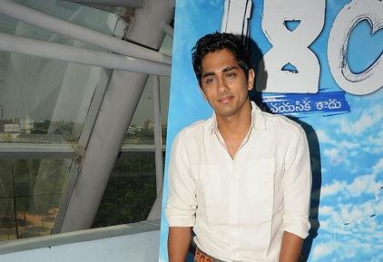 Siddharth at  Movie music unveiled event