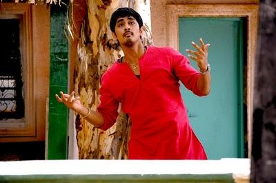 Siddharth in red dress in Baava movie