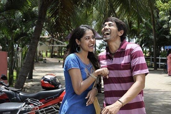 Nani Nithya Menon stills in veppam film