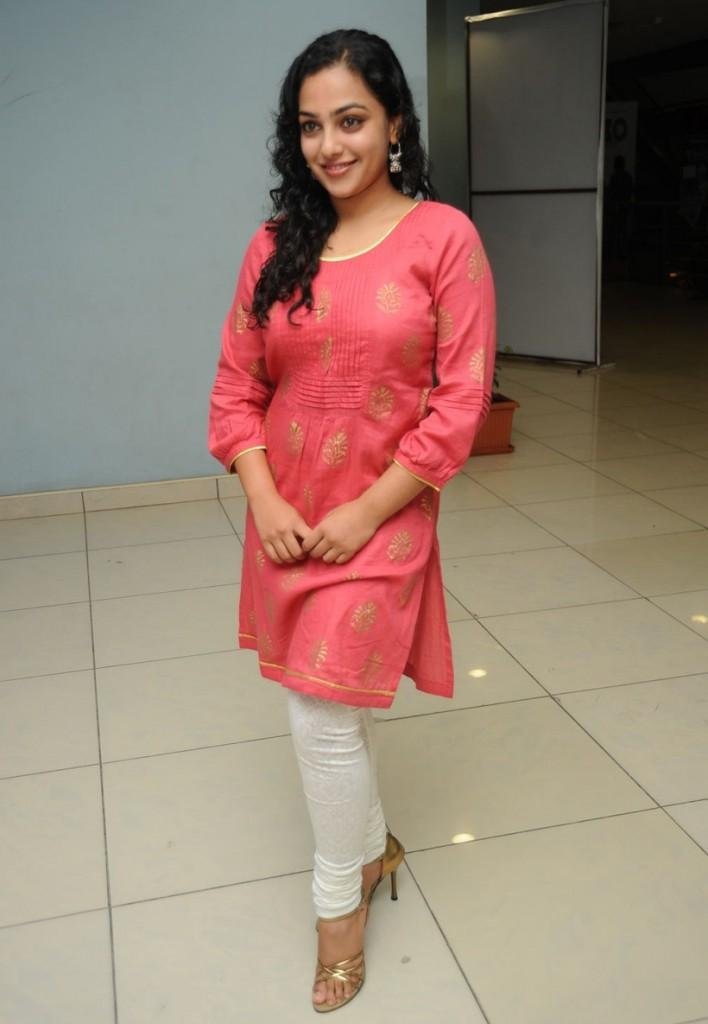 Nithya Menon at  Movie music unveiled event