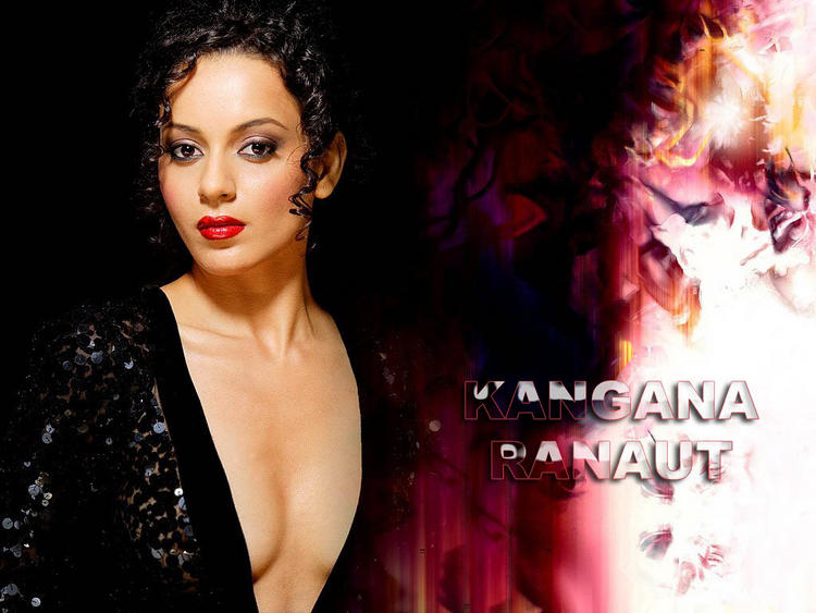 Kangana Ranaut  sizzling hot spicy look