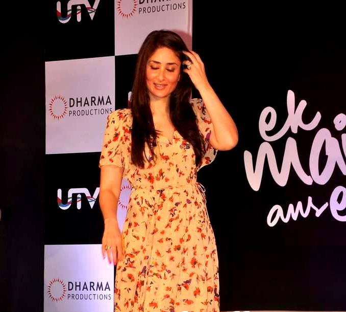 Kareena at Ek Main Aur Ekk Tu Press Meet
