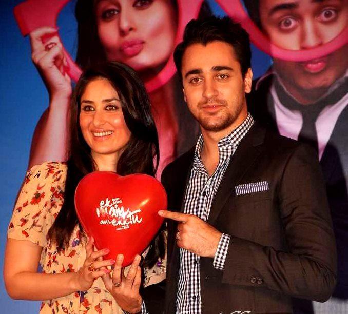 Kareena and Imraan at Ek Main Aur Ekk Tu Press Meet