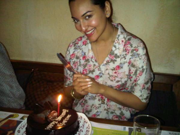 Sonakshi Sinha on her 24th Birthday