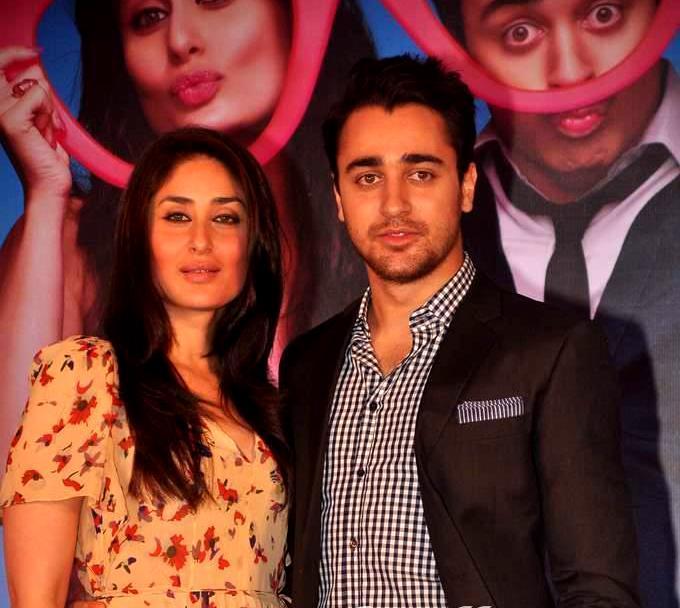 Beautiful couple of Ek Main Aur Ekk Tu Press Meet