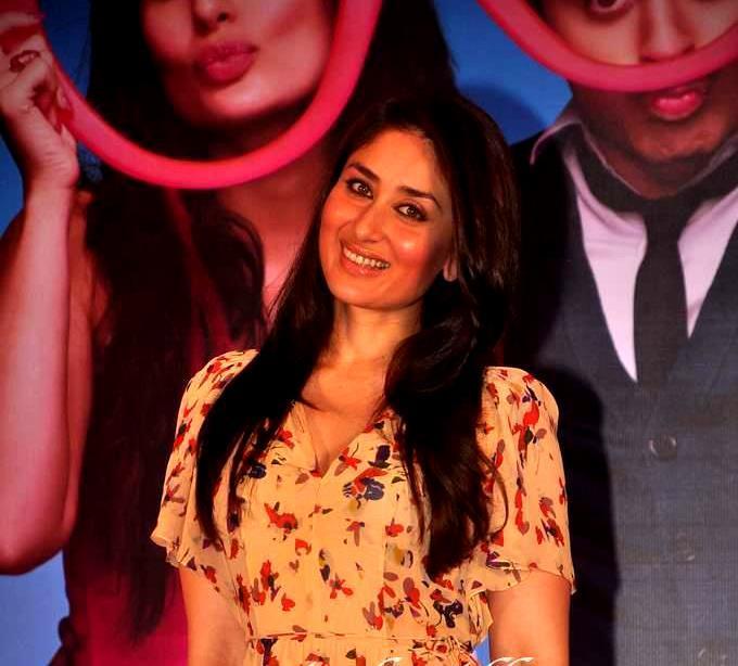 Happy Kareena at Ek Main Aur Ekk Tu Press Meet