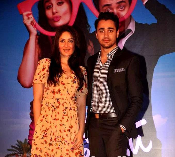 Kareena and Imraan Khan at Ek Main Aur Ekk Tu Press Meet