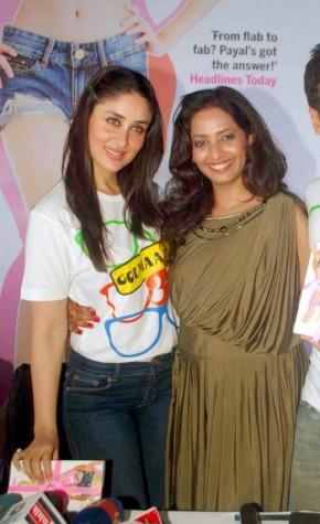 kareena and Payal Gidwani poses to photo shoot