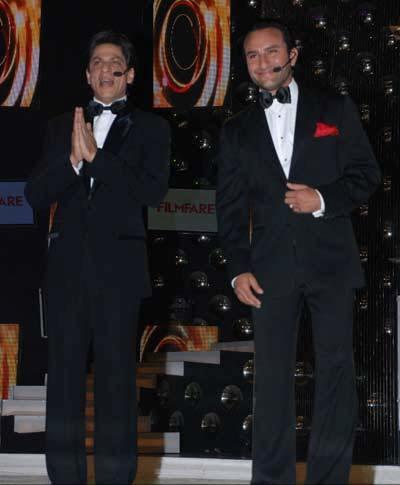 Shah Rukh Khan and Saif Ali Khan pics