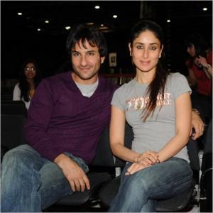 Saif Ali Khan and kareena kapoor  sexy picture