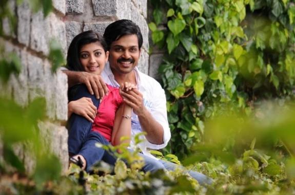 Saguni movie karthi and pranitha romantic look photos