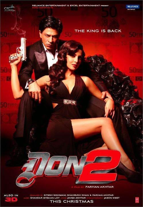 New Poster  of Don 2