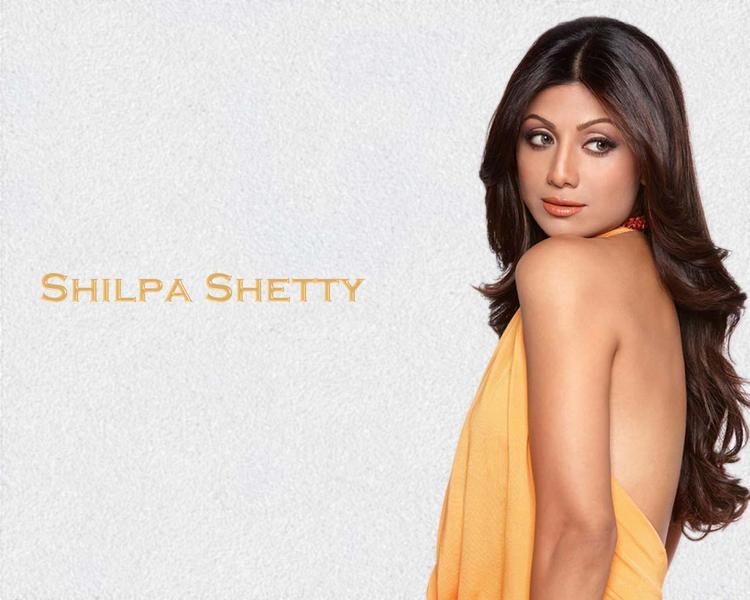 Shilpa Shetty back bare wallpaper