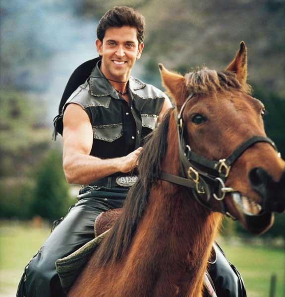 Hrithik Roshan Horse Riding