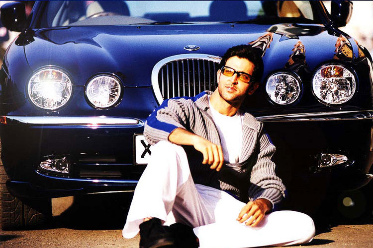 Hrithik Roshan with wonderful car still
