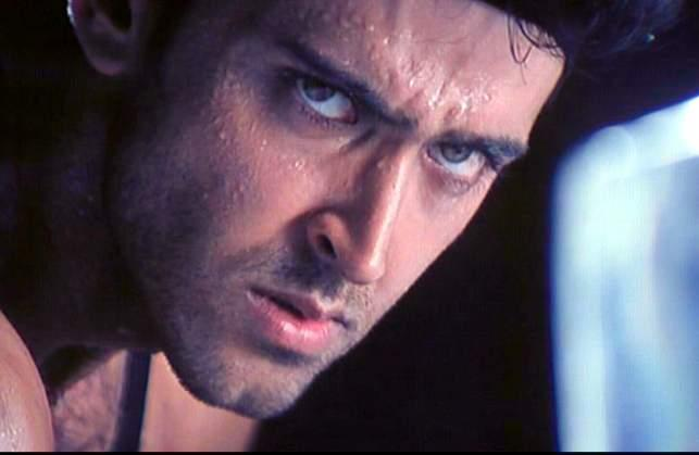 Angry Hrithik Roshan hot look