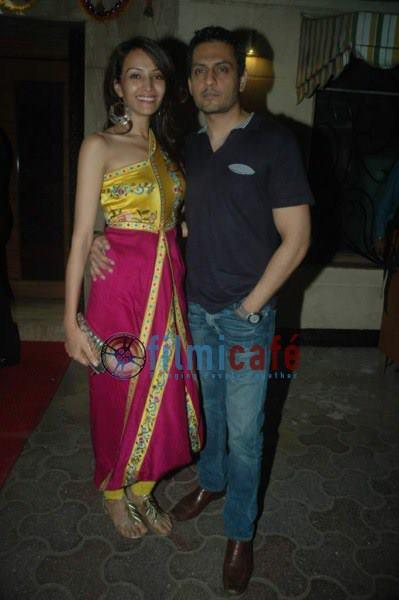 Dipannita Sharma with Husband