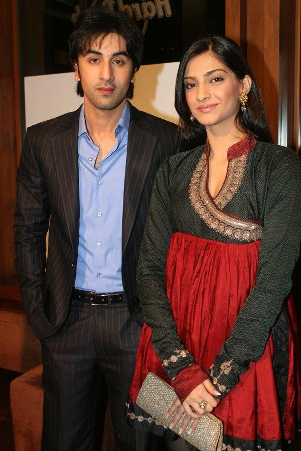 Sonam Kapoor with ranbir latest photo