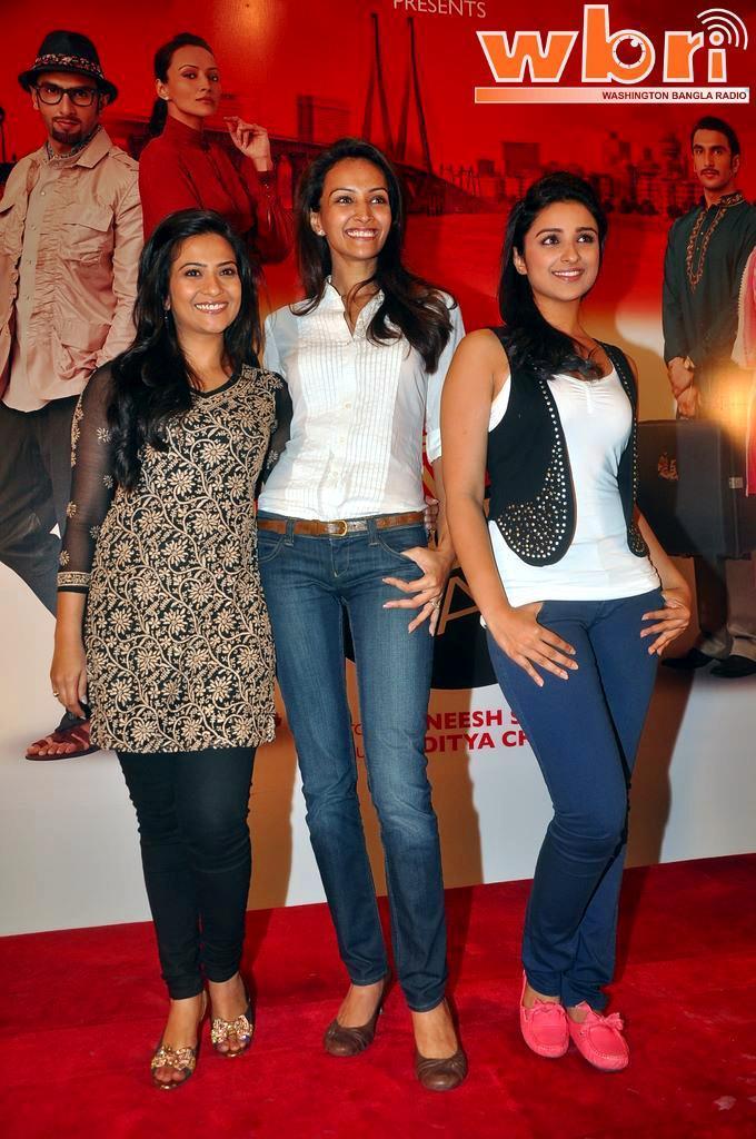 Dipannita Sharma and Parineeti Chopra and Aditi Sharma