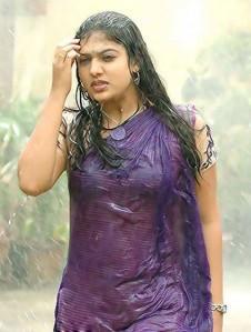 Nayanthara rain photo