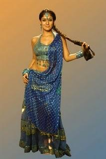 Nayanthara hot navel stills