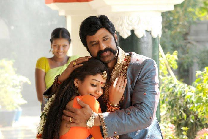 Simha Movie Balakrishna and Nayanthara stills