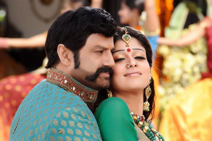 Simha Movie Balakrishna Nayanthara romance stills