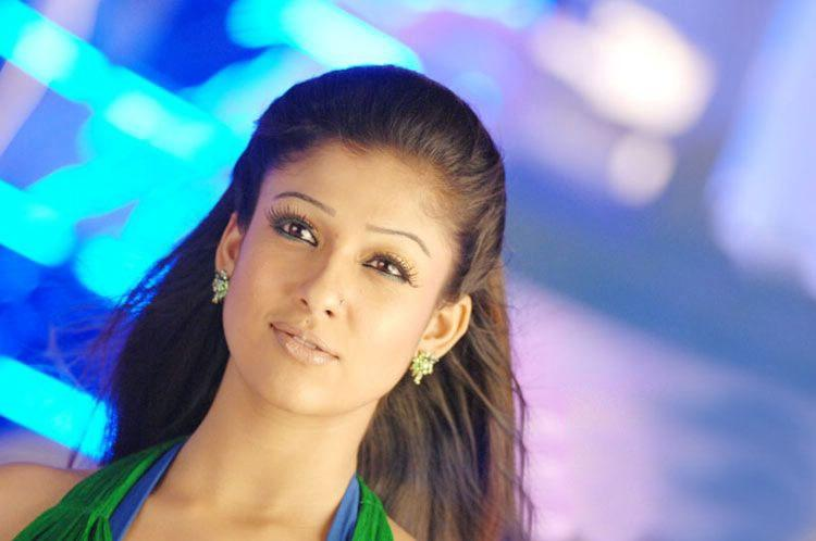 Nayanthara red lips stills