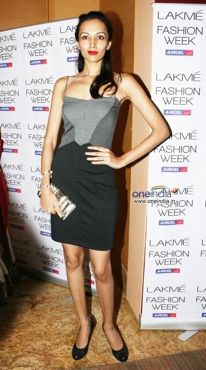Dipannita Sharma in Lakme Fashion Week