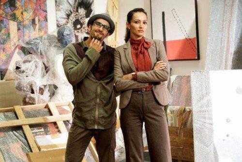 Dipannita Sharma with Ranveer in First Look From Ladies V/s Ricky Bahl