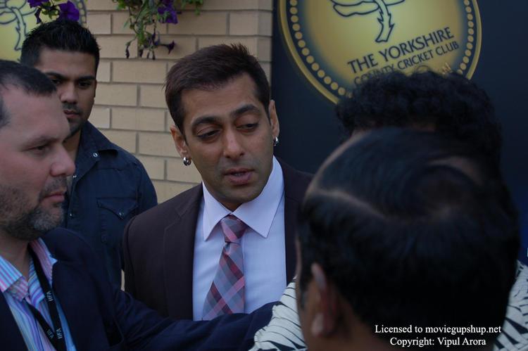 Salman Khan with hangover