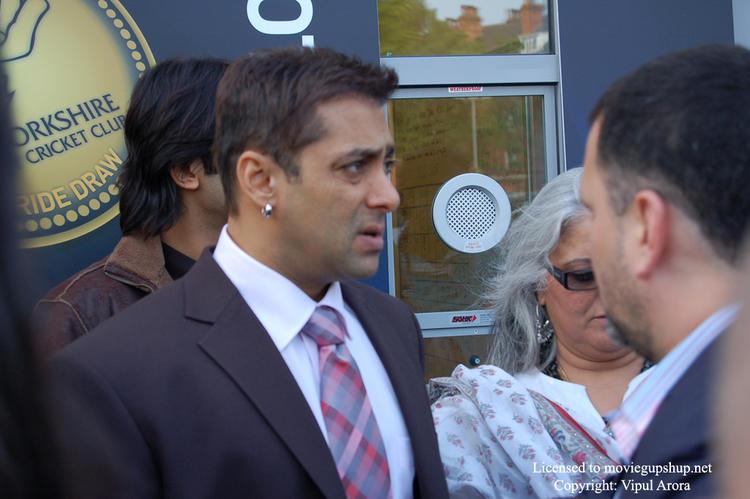 Irritated Salman Khan stills
