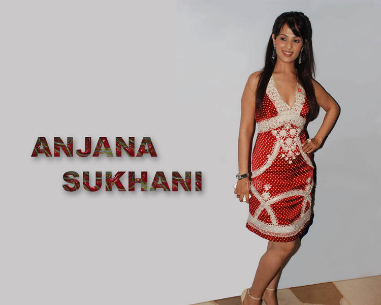 Anjana Sukhani red hot wallpaper