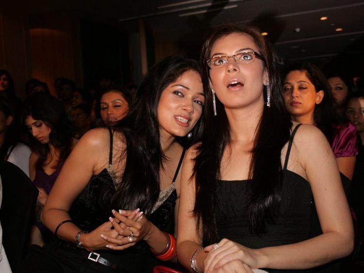 Vidya Malvade with Urvashi Sharma