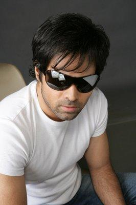 Emraan Hashmi hot pose wearing goggles