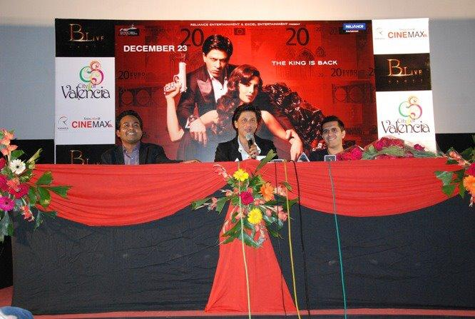 Shahrukh Khan in Nagpur to Promote Don 2