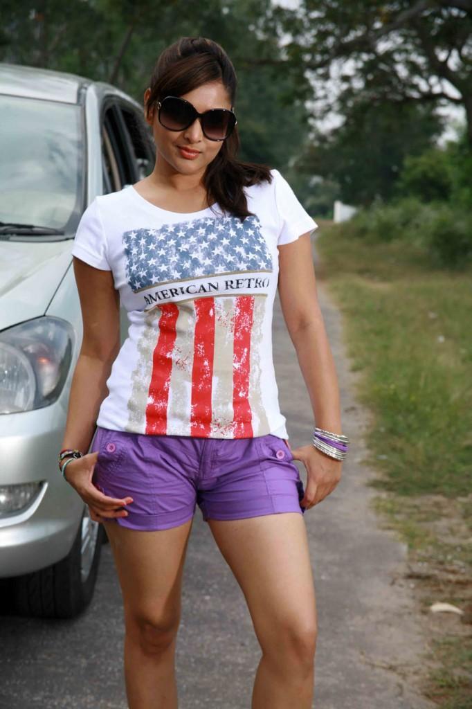 Ramya sexy picture in mini dress