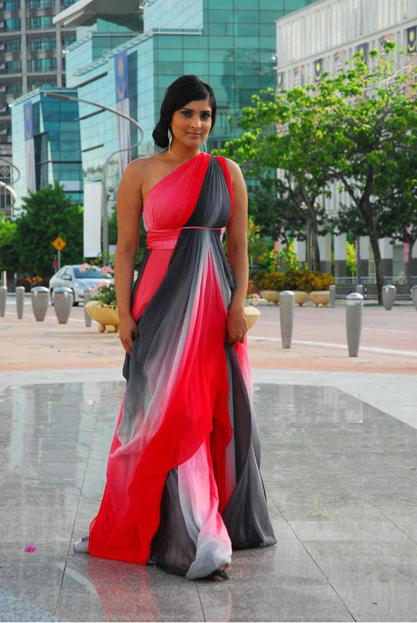 Ramya beautiful gown still