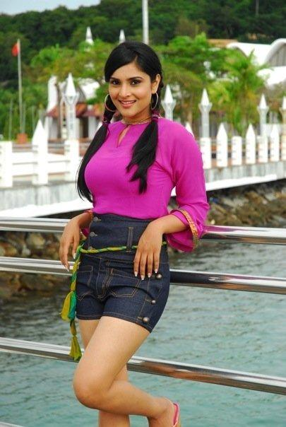 Ramya in mini dress sexy photo