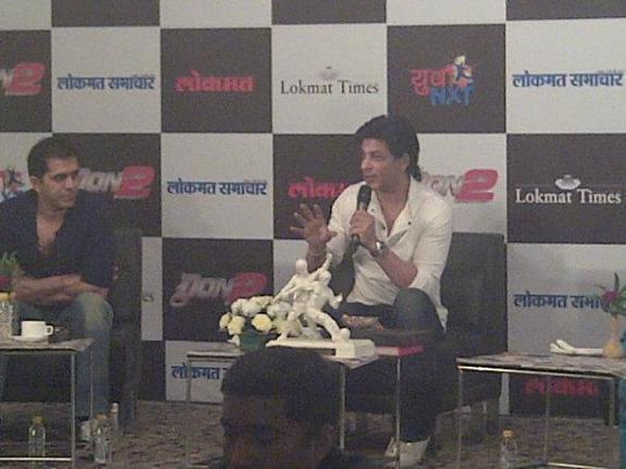 SRK answers to questions by Fans