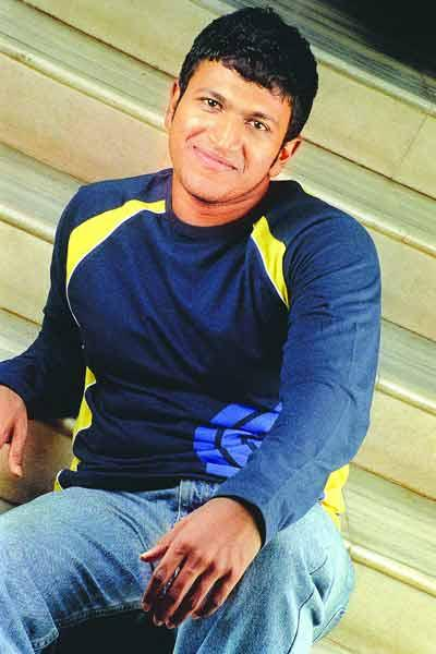 Puneeth Rajkumar with sweet smile pics