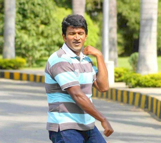 Puneet Rajkumar hot in t-shirt